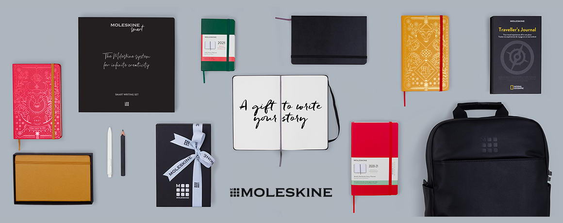 PRIMELINE desktop GRAFIKI - moleskine